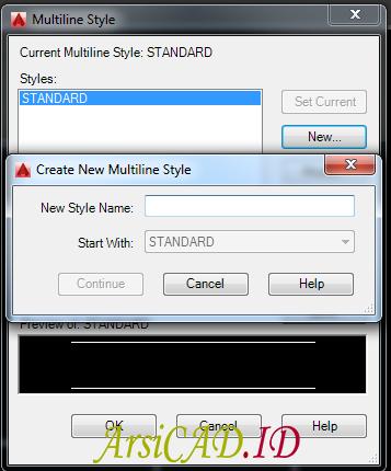 Langkah 4 Menggunakan Multiline Untuk Membuat Denah Secara Cepat Di AutoCAD