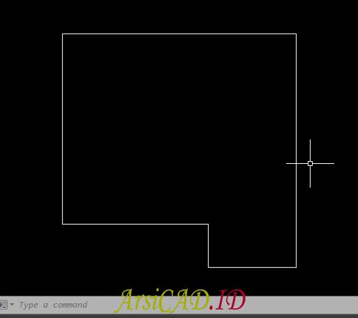 Langkah 1 Menggunakan Multiline Untuk Membuat Denah Secara Cepat Di AutoCAD