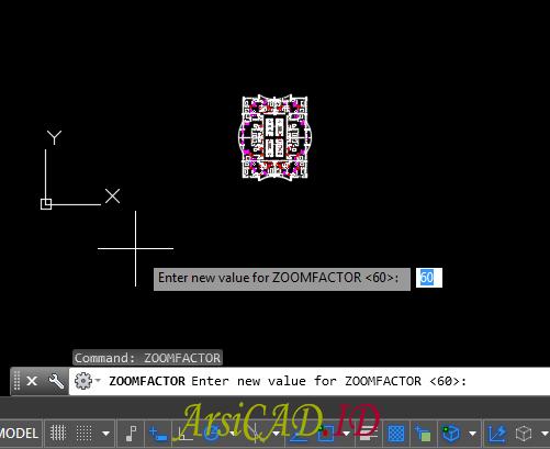 Langkah 2 Mengatasi Zoom Yang Tiba-Tiba Lambat (Lemot) Di AutoCAD