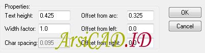 Catatan 1 Membuat Teks Melengkung Di AutoCAD Mengikuti Objek