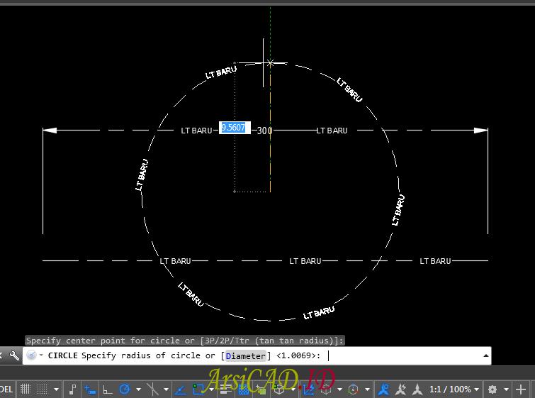 Langkah 3 Memunculkan Linetype Baru Atau Load Linetype