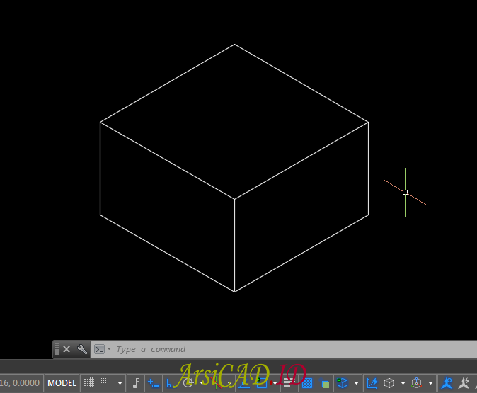 Contoh kasus Membuat Gambar Isometric Di AutoCAD