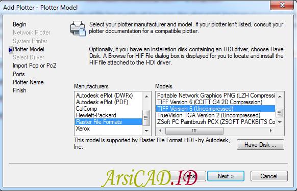 Langkah 5 Membuat Convert Image Beresolusi Tinggi di AutoCAD