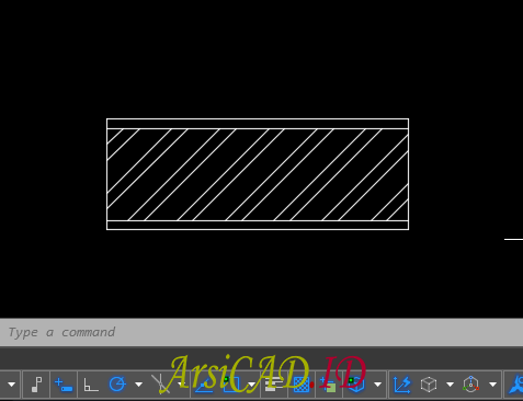 Contoh Kasus Membuat Dynamic Block Dengan Parameter Linear dan Action Stretch