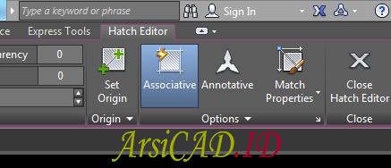 Langkah 2 Memisahkan Hatch Yang Dibuat Bersamaan Di AutoCAD