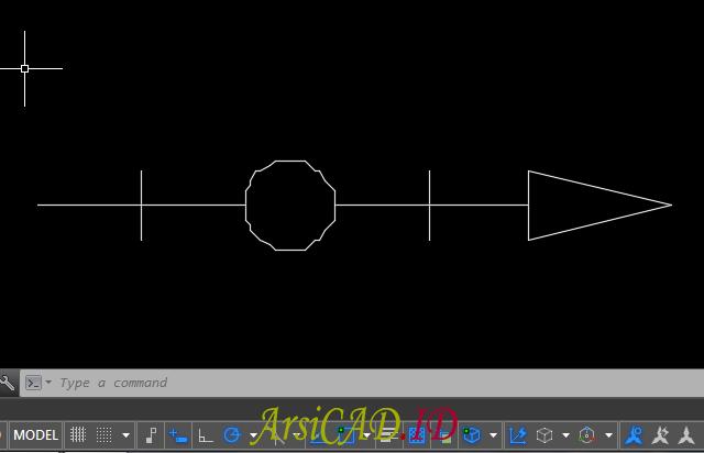 Langkah 13 Membuat Custom Linetype Objek Yang Kompleks Di AutoCAD