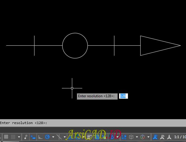 Langkah 5 Membuat Custom Linetype Objek Yang Kompleks Di AutoCAD
