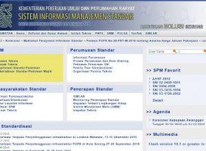 Daftar Pilihan Kategori Ebook SNI Bidang Pekerjaan Umum