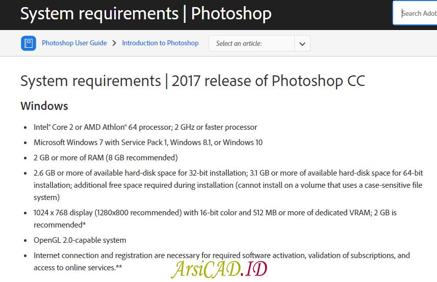 Standar Spesifikasi Laptop Untuk Desain Photoshop