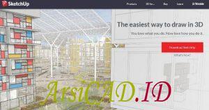 aplikasi desain rumah yang banyak dipakai oleh arsitek