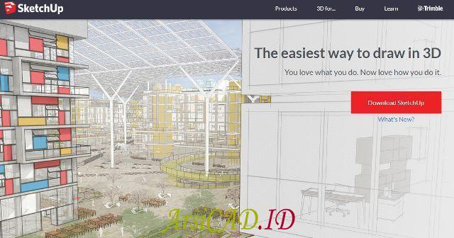 Aplikasi Sketchup sebagai Aplikasi Desain Rumah Untuk Dipelajari