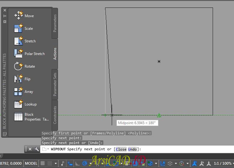 Langkah ke 5 Cara Menggunakan Wipeout AutoCAD Untuk Efisiensi Editing Denah