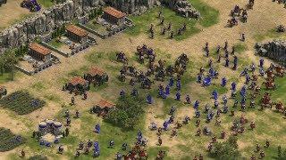 Tampilam Game Membangun Age Of Empires Saat Dimainkan