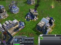 Ilustrasi Game Membangun Bertema Real Time Strategy