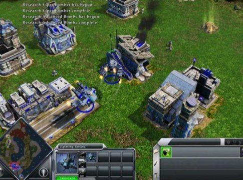 Ilustrasi Game Membangun Bertema Real Time Strategy