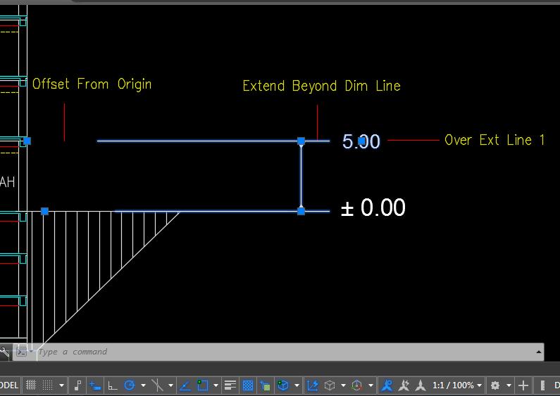 Penjelasan tentang pengaturan dimensi untuk elevasi bangunan