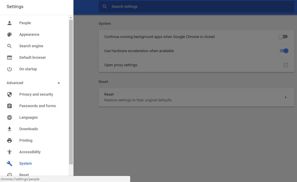 Mengaktifkan Setting WebGL di Chrome